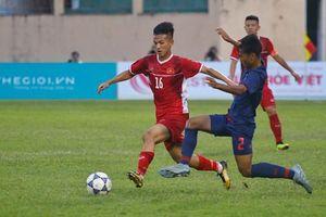 U19 Việt Nam bị U19 Thái Lan cầm chân ở giải U19 quốc tế