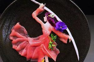 Nâng tầm sashimi thành nghệ thuật thị giác