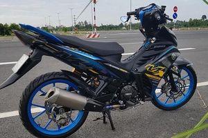 Exciter 135 độ 'full option' với ống xả Yamaha R6 đầy uy lực
