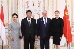 Chủ tịch Trung Quốc Tập Cận Bình hội đàm với Hoàng thân Monaco Albert II