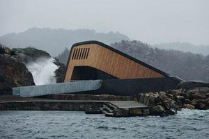 Kiến trúc 'cực dị' của nhà hàng dưới nước lớn nhất thế giới vừa khai trương