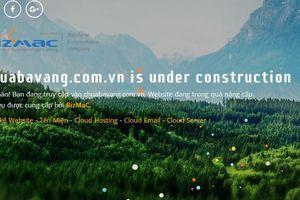Bất ngờ website truyền bá 'vong báo oán' của chùa Ba Vàng biến mất