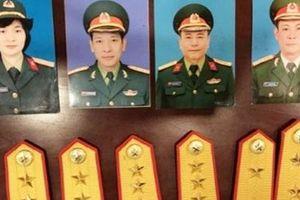 Bắt giam thêm 2 đối tượng trong đường dây giả danh 'Thiếu tướng Quân đội'