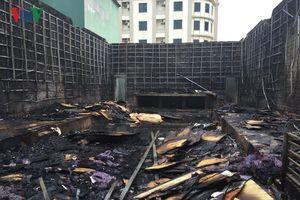 Cháy lớn thiêu rụi quán bar tại thị xã Cửa Lò