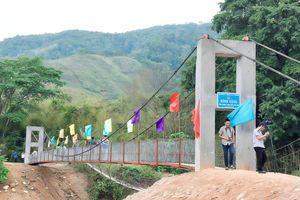 Khánh thành cầu dân sinh tại xã Kon Pne