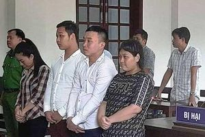 4 bị cáo lãnh án vì giam giữ người trái luật