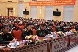 Bộ Tổng tham mưu: Tập huấn công tác quân sự năm 2019