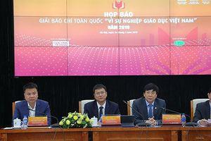 Khởi động Giải báo chí toàn quốc 'Vì sự nghiệp Giáo dục Việt Nam' lần thứ 2