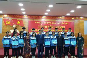 Lào Cai tuyên dương khen thưởng 75 giáo viên và học sinh giỏi quốc gia
