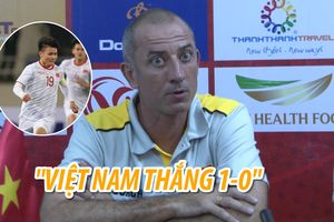 Thầy cũ tin Quang Hải ghi bàn vào lưới U.23 Thái Lan