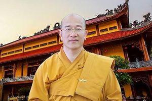 Tạm đình chỉ mọi chức vụ trong Giáo hội PGVN vơi sư thầy Chùa Ba Vàng