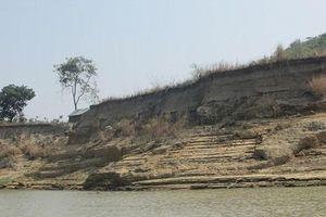 Đắk Lắk: Sông Krông Ana 'biến dạng' vì hoạt động khai thác cát