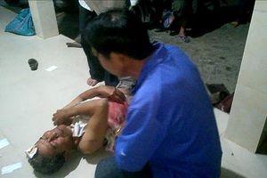 Hô hoán đẩy đuổi cát tặc, 1 người dân bị chém nhập viện trong đêm