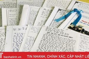 Những dòng thư xúc động 'gửi người thân' của học sinh Hà Tĩnh
