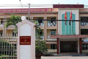 Quảng Nam: Kỷ luật nguyên Bí thư Huyện ủy vì vi phạm công tác cán bộ