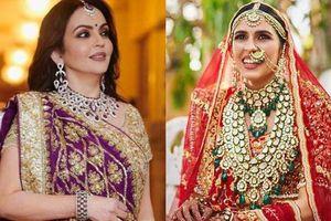 Tỷ phú giàu nhất Ấn Độ tặng con dâu quà cưới hơn nghìn tỷ đồng