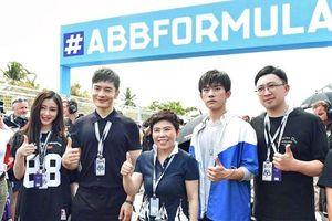 Huỳnh Hiểu Minh, Dịch Dương Thiên Tỉ (TFBOYS) và Vu Chính cùng trải nghiệm sự kiện xe đua tốc độ
