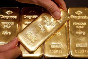 Giá vàng miếng lên đỉnh gần 1 tháng, USD giảm