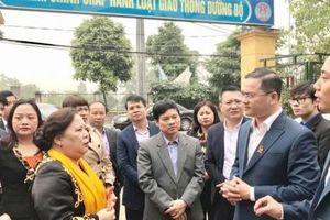 Chủ tịch HĐND TP Nguyễn Thị Bích Ngọc thăm công trình thanh niên của Thành đoàn Hà Nội