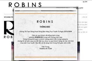 Robins.vn, trang bán hàng thời trang lớn nhất Việt Nam đóng cửa