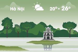 Thời tiết ngày 27/3: Hà Nội hửng nắng, Sài Gòn nóng 37 độ C