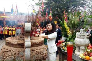 Kỷ niệm 1771 năm ngày mất của nữ Anh hùng dân tộc Triệu Thị Trinh