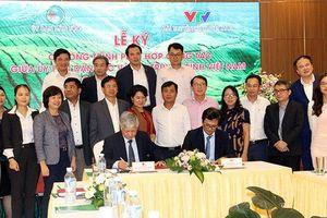 Ủy ban Dân tộc và Ðài Truyền hình Việt Nam ký Chương trình phối hợp công tác giai đoạn 2019 - 2021