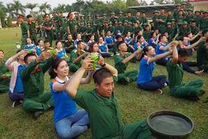 Tạo môi trường tốt để chiến sĩ luyện rèn