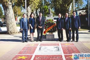 Việt Nam và Chile ký thỏa thuận tu sửa Công viên Hồ Chí Minh