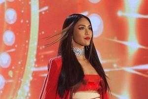 Hậu kết hôn, Lan Khuê lần đầu tiên trở lại sàn diễn với vai trò vedette
