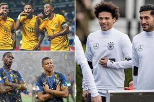 5 đội tuyển đắt giá nhất thế giới: 'Gà trống' Pháp là số 1