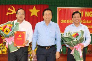 Nhân sự mới Đồng Nai, Long An, Quảng Bình, TP.HCM, Sóc Trăng