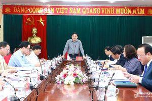 Bí thư Tỉnh ủy: Sát hạch đội ngũ chuyên viên để nâng cao chất lượng tham mưu