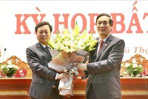 Phú Thọ có tân Chủ tịch HĐND và Chủ tịch UBND tỉnh