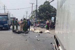 Tai nạn giao thông kinh hoàng, hai vợ chồng tử vong