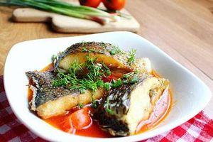 Cách làm cá rô phi sốt cà chua