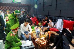 Phát hiện 100 người dương tính với ma túy trong quán bar ở Huế