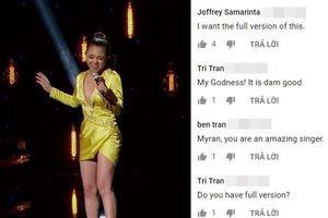 Lộ tiết mục bị cắt 'uổng phí' đưa Minh Như vào Top 40 American Idol: Fan chờ bản full xịn