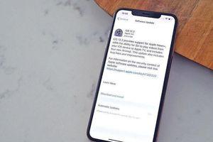Cập nhật iOS 12.2 để vá 51 lỗ hổng nghiêm trọng