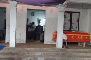 Vụ xe khách đâm đoàn người đưa tang: Đại tang ở làng Trung Nguyên
