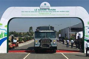 Mở đường vào dự án xử lý rác lớn nhất tỉnh Long An