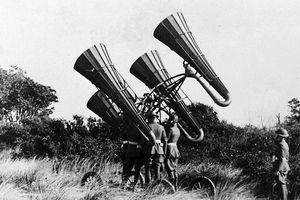 Ảnh hiếm về các loại vũ khí và công nghệ sử dụng trong Thế chiến I
