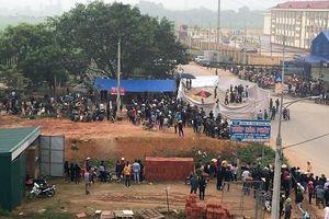 Xe khách tông vào đoàn đưa tang ở Vĩnh Phúc chạy với tốc độ cao
