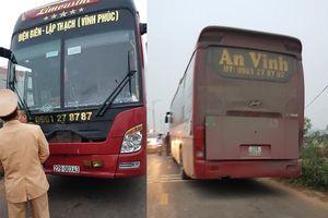 Tai nạn thảm khốc ở Vĩnh Phúc: Xe khách có dấu hiệu tăng tốc trước khi tông chết 7 người