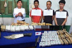 Quảng Bình bắt vụ vận chuyển 110.000 viên ma túy tổng hợp