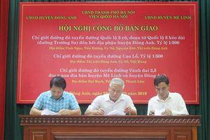 Phê duyệt nhiều tuyến đường lớn qua huyện Đông Anh và Mê Linh