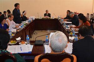 Đoàn Chủ tịch VUSTA họp chuẩn bị Hội nghị Hội đồng TW
