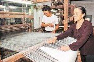 Nâng tầm tinh hoa nghề dệt