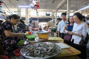 TP Hồ Chí Minh kiểm tra mô hình thí điểm chợ an toàn thực phẩm