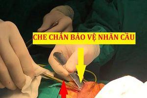 Mổ xuyên đêm cứu bé trai bị thanh sắt đâm xuyên hốc mắt vào trong não